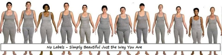 womens body shapes no labels